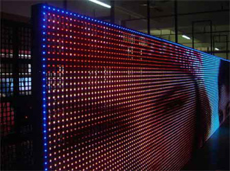 Led Background Lighting Indoor Led Background Wall For