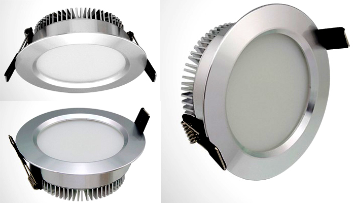 9w led down lighting
