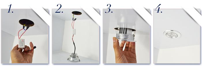 How to install landscape spot lighting :