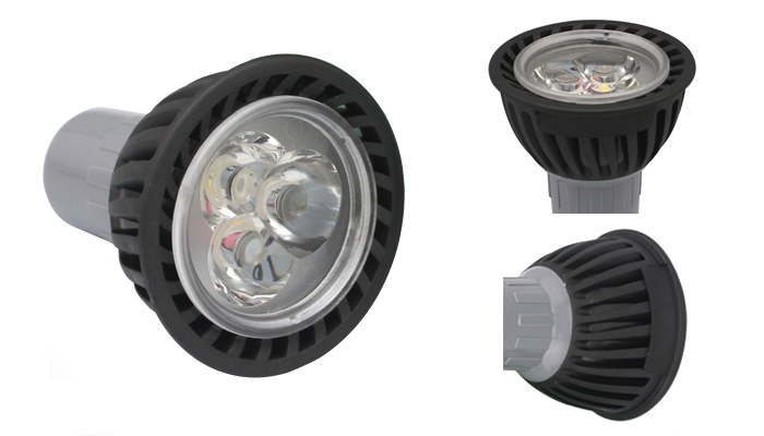 3w led spot lamp alloy
