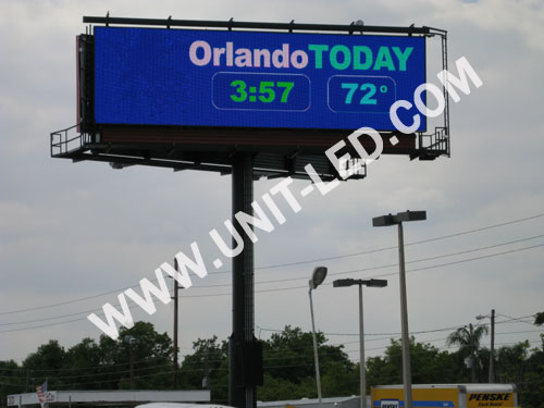 LED Video Billboard for Outdoor Advertising