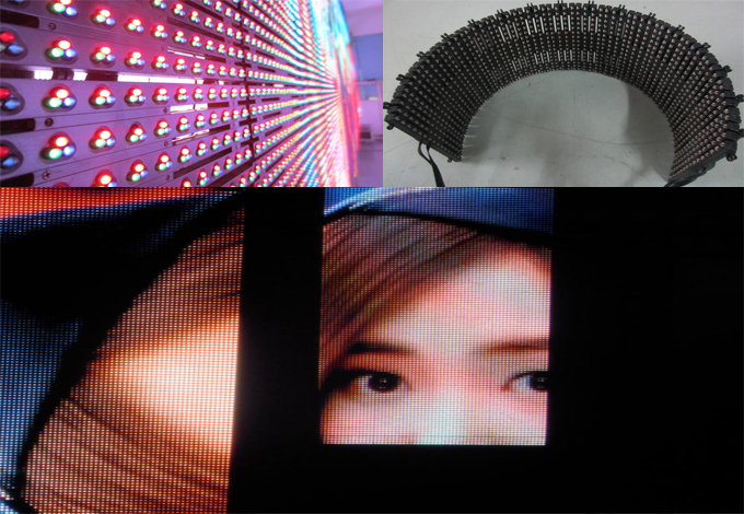 ph15mm flexible led screen