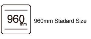 960mm standard size led display