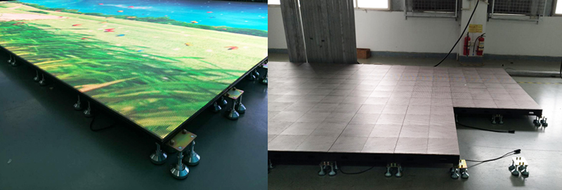 floor led screen