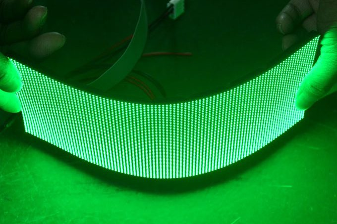 Soft Flexible LED display