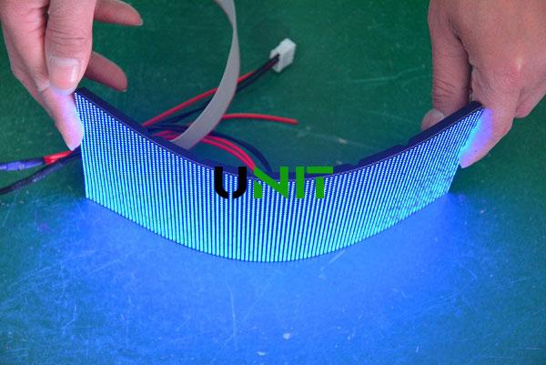 soft led display panel