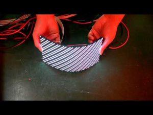 Unit flexible Soft LED display