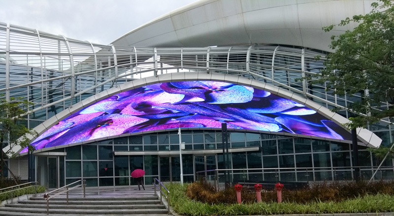 Unit Outdoor P6mm LED display