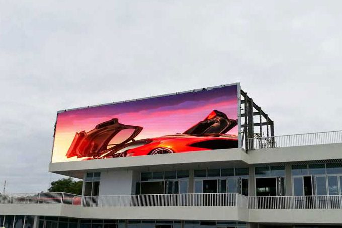 Unit P8mm outdoor LED display