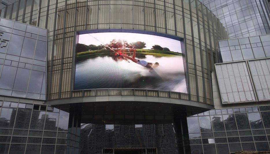 UNIT P10mm Outdoor LED display in Thailand