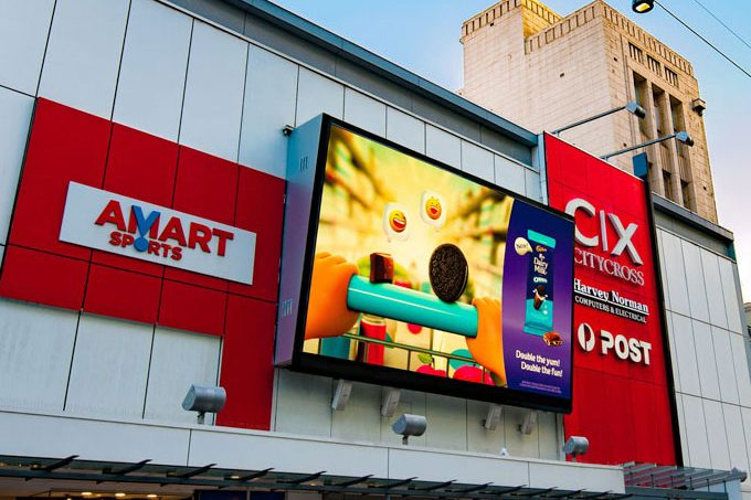 Unit P6 outdoor LED display