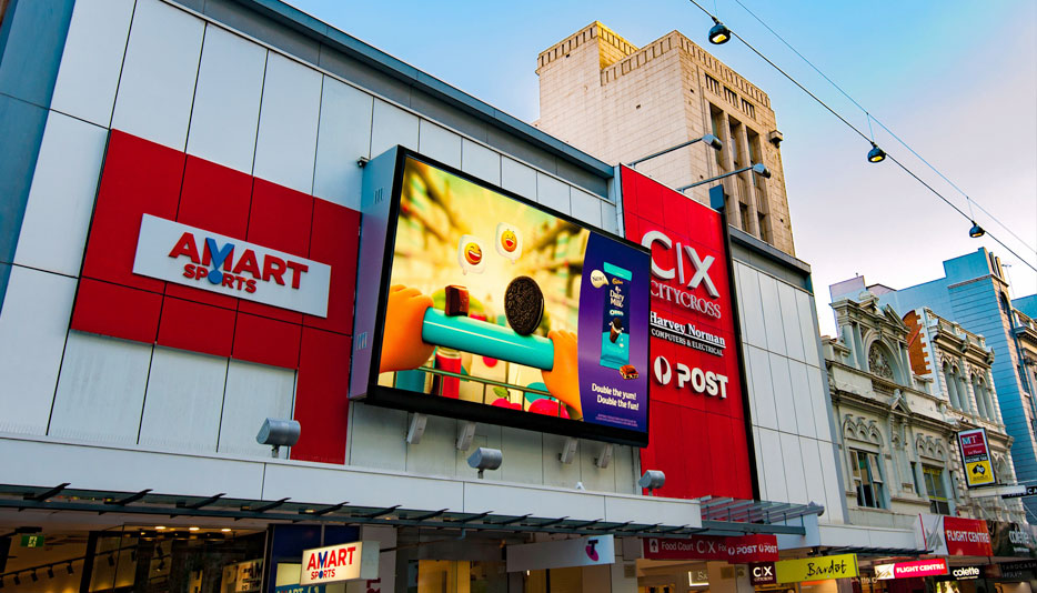 UNIT P6mm Outdoor Advertising LED display in Australia