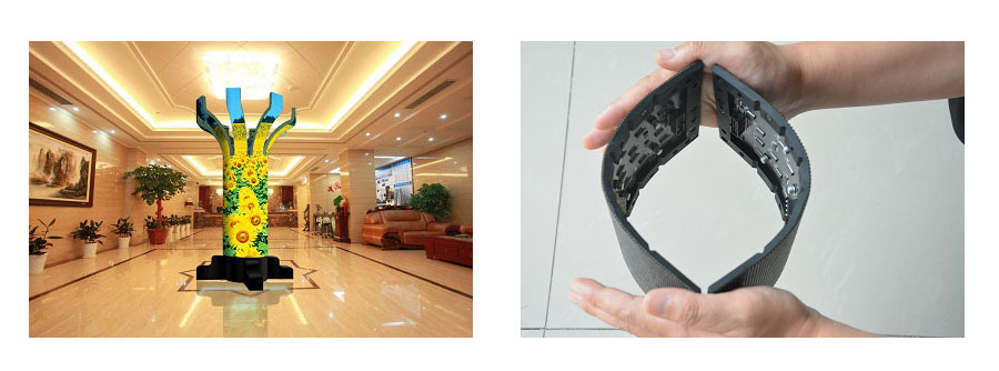 Unit Flexible LED display
