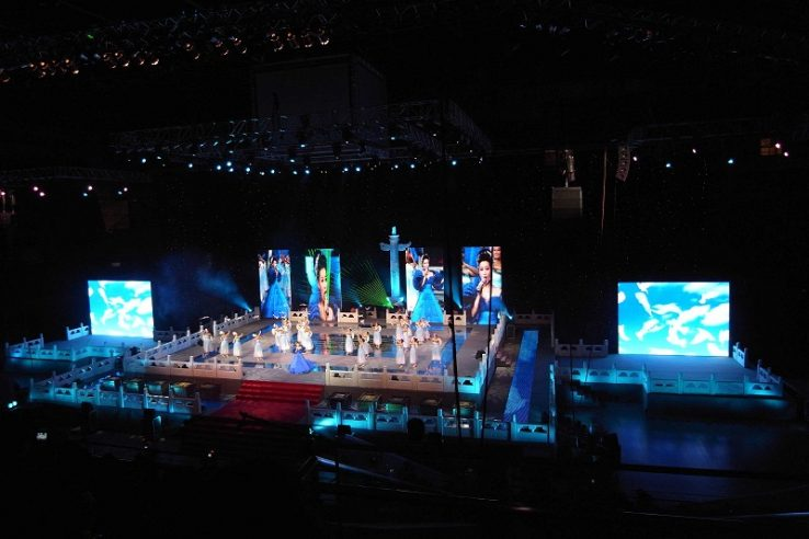 Unit Stage Rental LED display