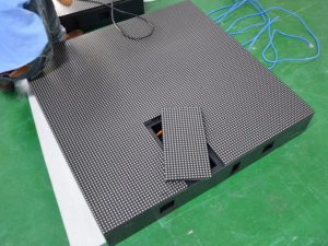 P10 front service LED display