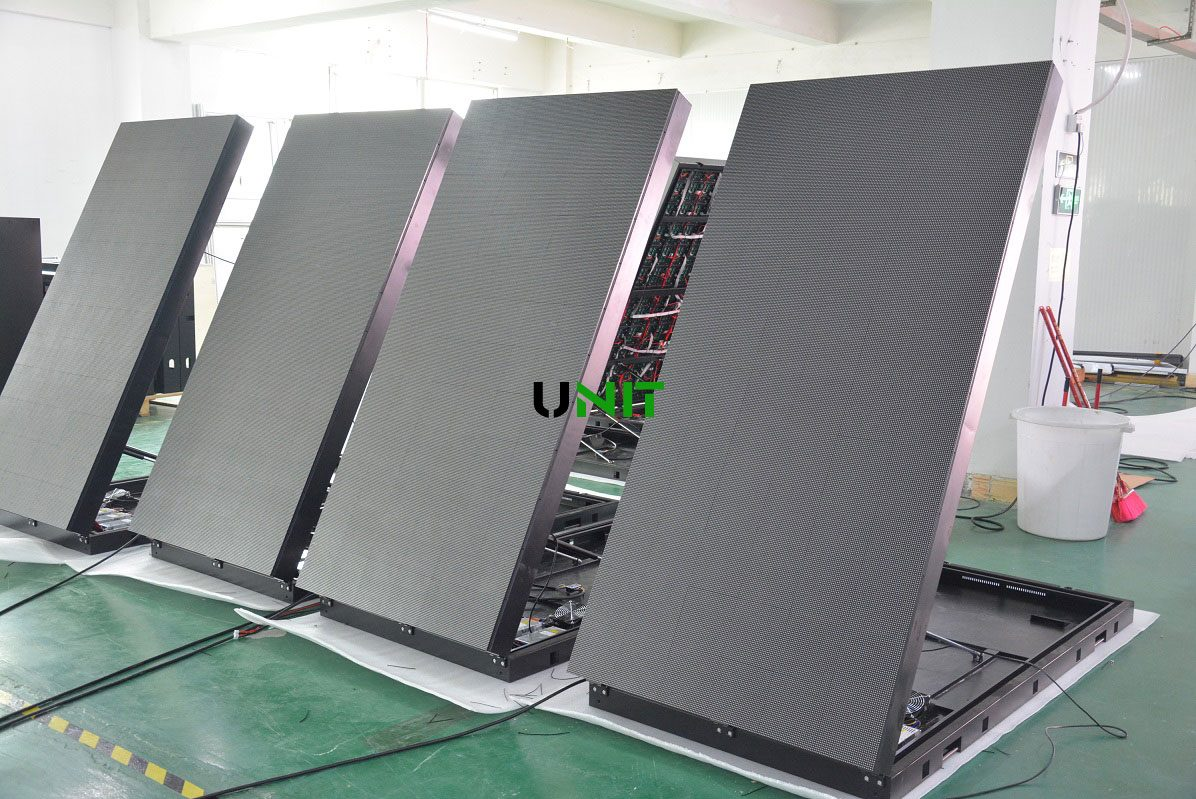 P5 front open LED display