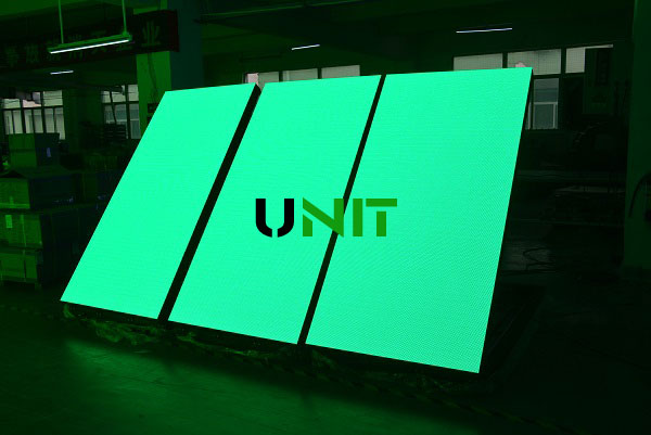p4 front open led display panel