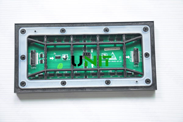 P8mm Double Side LED display Front Service LED Screen Panel