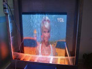 Unit S960 Series LED display Waterproof Test