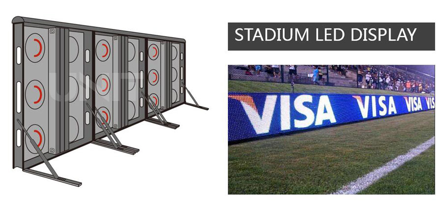Unit OF800 outdoor frontal service LED display