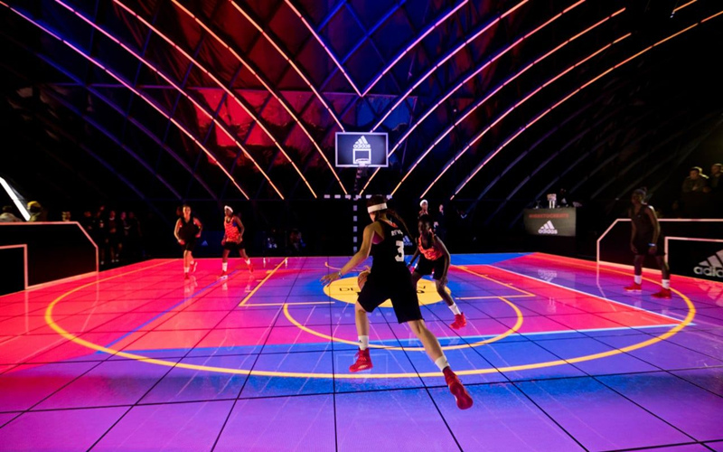 Interactive LED Floor for sport