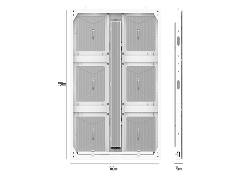Parameters of LED cabinet