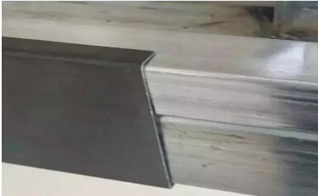 install steel edging for LED display module