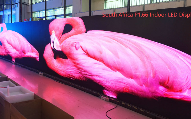 Small pitch LED display screen South Africa case