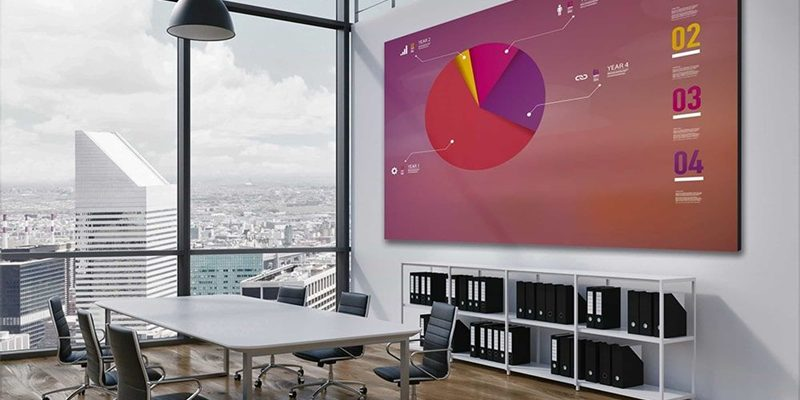 LED screen wall for meeting room, LED video wall rental